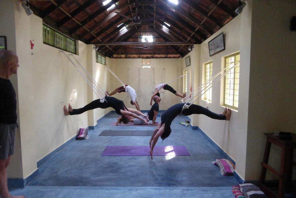 Intensive course in iyengar yoga kuzhuppilly paravoor kochi kerala